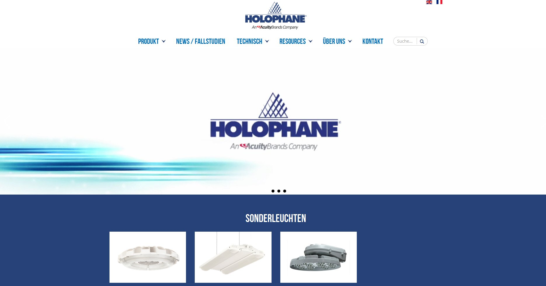 holophane homepage